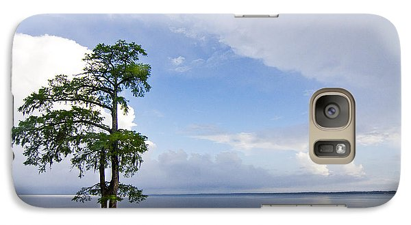 Galaxy Case featuring the photograph Cypress On The Neuse by Bob Decker