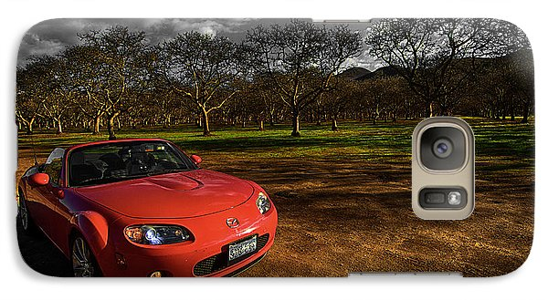 Galaxy Case featuring the photograph D-mx5 by Jason Abando
