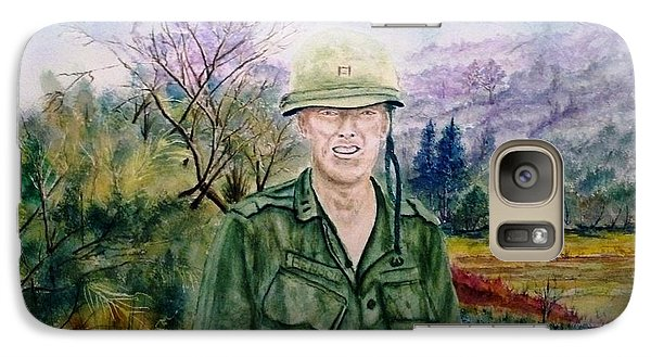Galaxy Case featuring the painting Dad Vietnam 1966 by Richard Benson