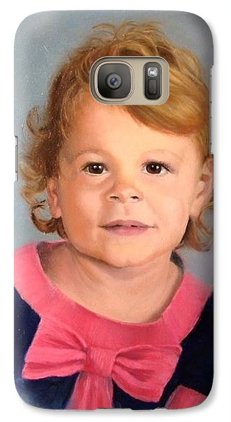 Galaxy Case featuring the painting Daddy's Girl by Lori Ippolito