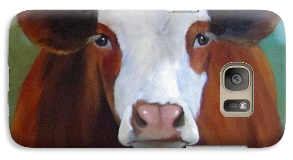 Galaxy Case featuring the painting Daffodil by Cheri Wollenberg