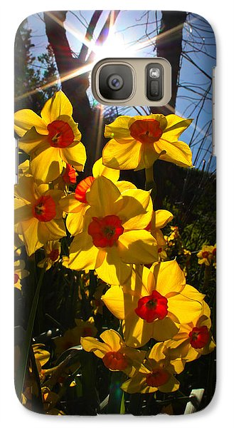 Galaxy Case featuring the photograph Daffodil Days by Richard Stephen