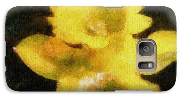 Galaxy Case featuring the painting Daffodil by Greg Collins