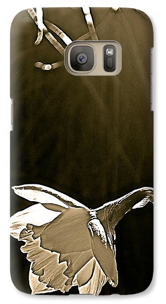 Galaxy Case featuring the photograph Daffodils 2 by Pamela Cooper