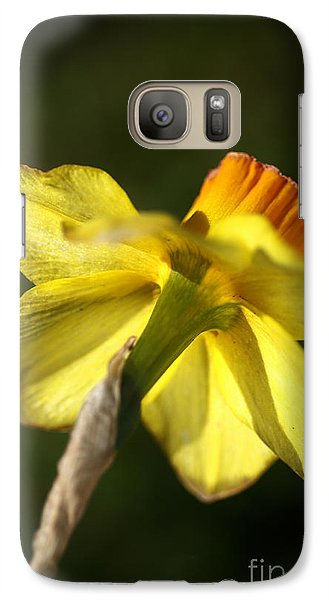 Galaxy Case featuring the photograph Daffodils Grace by Joy Watson