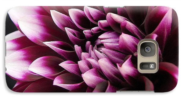 Galaxy Case featuring the photograph Dahlia Delightful by Kathi Mirto