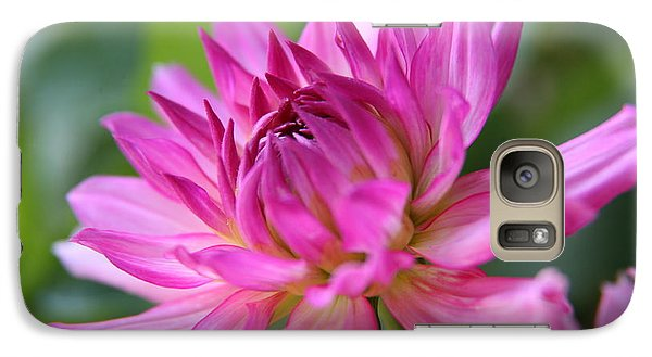 Galaxy Case featuring the photograph Dahlia by Lynn England