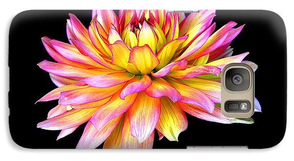 Galaxy Case featuring the photograph Dahlia by Mariarosa Rockefeller