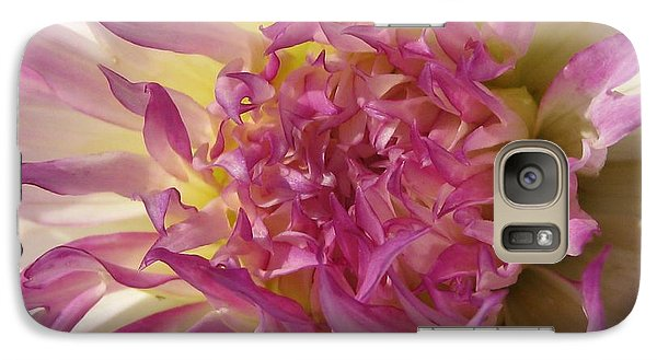Galaxy Case featuring the photograph Dahlia Named Angela Dodi by J McCombie