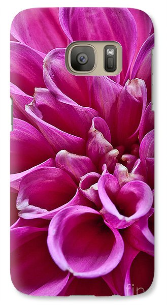 Galaxy Case featuring the photograph Dahlia by Shirley Mangini