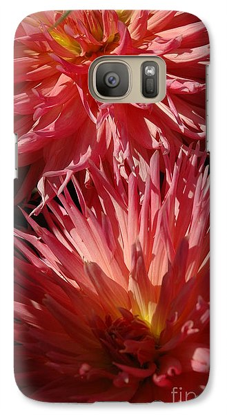 Galaxy Case featuring the photograph Dahlia Vi by Christiane Hellner-OBrien