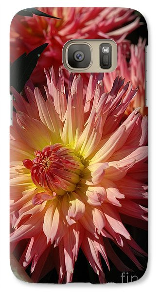 Galaxy Case featuring the photograph Dahlia Viii by Christiane Hellner-OBrien
