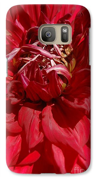 Galaxy Case featuring the photograph Dahlia Viiii by Christiane Hellner-OBrien