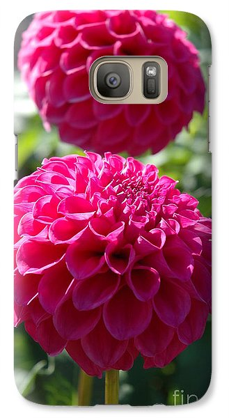 Galaxy Case featuring the photograph Dahlia Xi by Christiane Hellner-OBrien