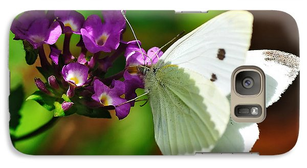 Dainty Butterfly Galaxy S7 Case by Kaye Menner