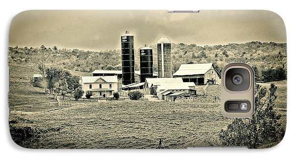 Galaxy Case featuring the photograph Dairy Farm by Denise Romano