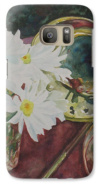 Daisies Bold As Brass Galaxy S7 Case by Jenny Armitage