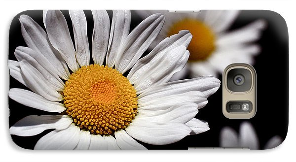 Daisies Galaxy Case by Rona Black