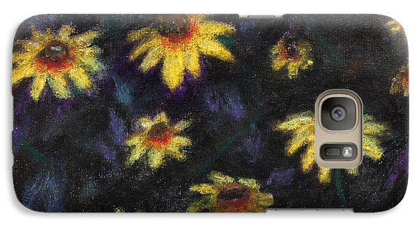 Galaxy Case featuring the painting Daisies by Stan Tenney