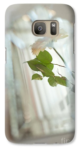 Galaxy Case featuring the photograph Daisy In The Mirror by Aiolos Greek Collections