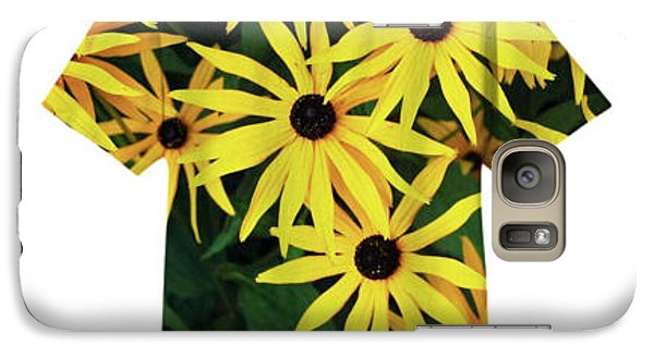 Galaxy Case featuring the photograph Daisy Tee by Bill Thomson