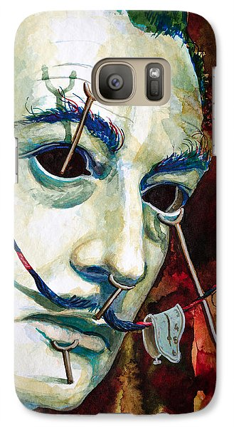 Galaxy Case featuring the painting Dali 2 by Laur Iduc