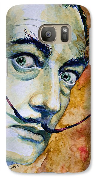 Galaxy Case featuring the painting Dali by Laur Iduc