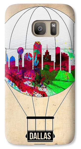 Dallas Air Balloon Galaxy S7 Case by Naxart Studio