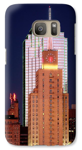 Galaxy Case featuring the photograph Dallas At Dawn by David Perry Lawrence