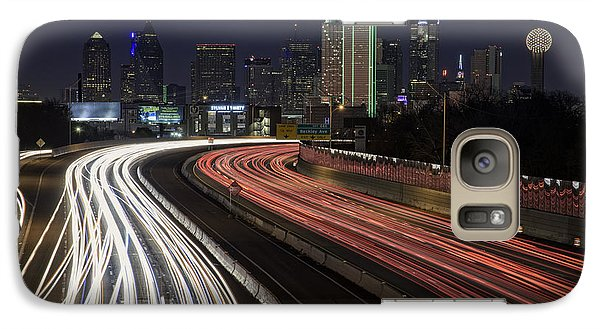 Dallas Night Galaxy S7 Case by Rick Berk