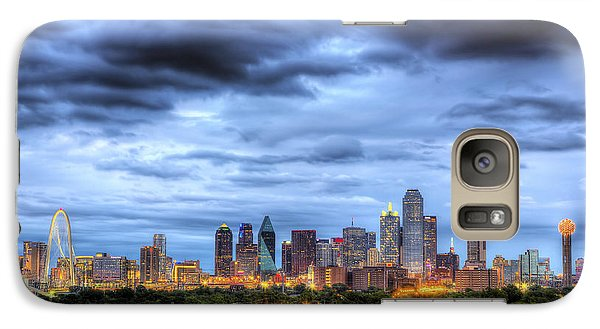 Galaxy Case featuring the photograph Dallas Skyline by Shawn Everhart