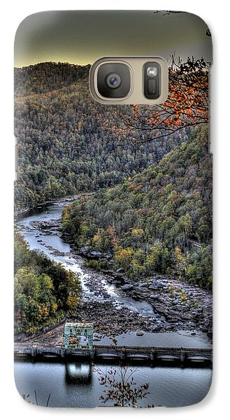 Galaxy S7 Case featuring the photograph Dam In The Forest by Jonny D