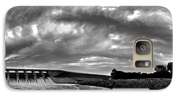 Galaxy Case featuring the photograph Dam Panoramic by Brian Duram
