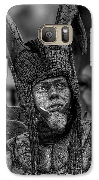 Galaxy Case featuring the photograph Damian by Erhan OZBIYIK