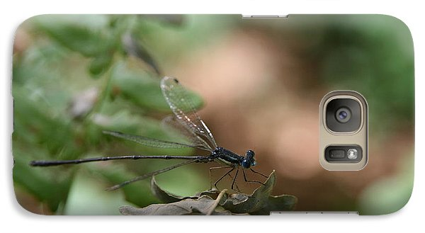 Galaxy Case featuring the photograph Damselfly by Neal Eslinger