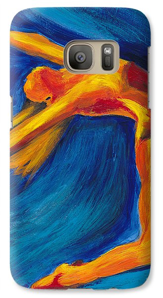 Galaxy Case featuring the painting Dance by Denise Deiloh