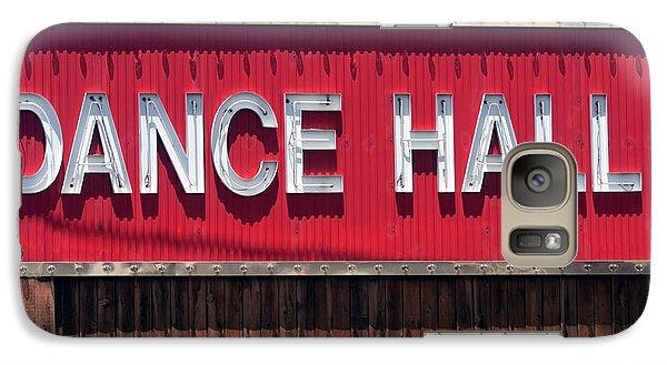 Galaxy Case featuring the photograph Dance Hall Sign by Gunter Nezhoda