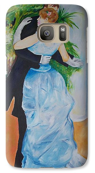 Galaxy Case featuring the painting Dance In The City  by Eric  Schiabor