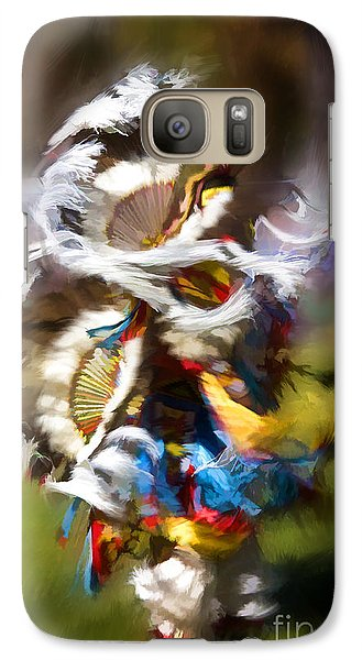 Galaxy Case featuring the painting Dance by Linda Blair