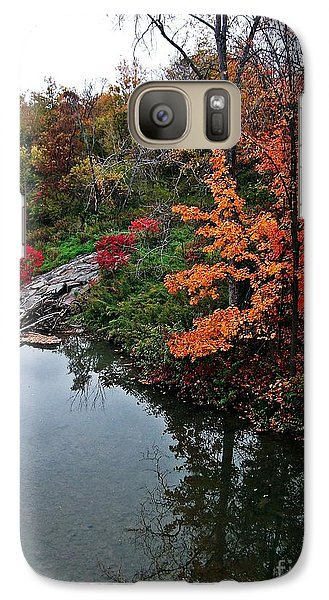 Galaxy Case featuring the photograph Dance Of Autumn by Christian Mattison