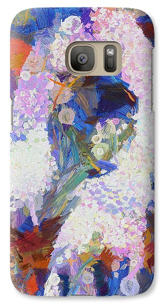 Galaxy Case featuring the painting Dance Of Fools by Joe Misrasi