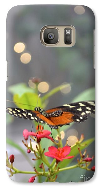 Galaxy Case featuring the photograph Dance Of The Butterfly by Carla Carson