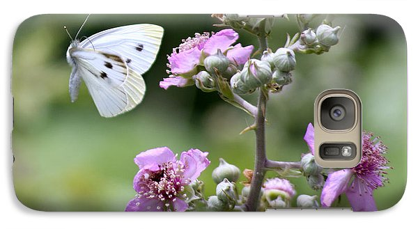 Galaxy Case featuring the photograph Dance Of The Butterfly by Martina  Rathgens