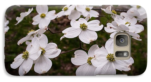 Galaxy Case featuring the photograph Dance Of The Dogwoods by Wayne Meyer