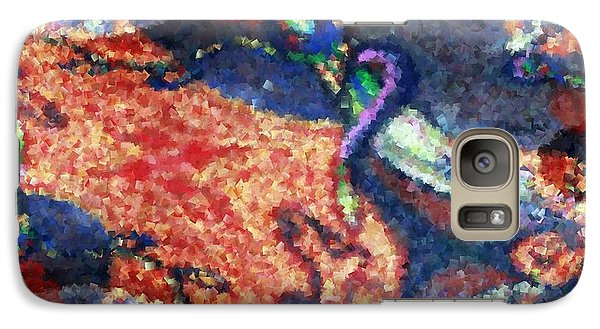 Galaxy Case featuring the painting Dance With Me 2 by Ayasha Loya
