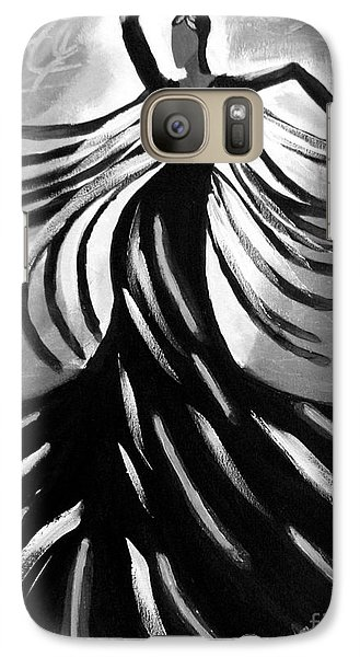 Galaxy Case featuring the painting Dancer 2 by Anita Lewis