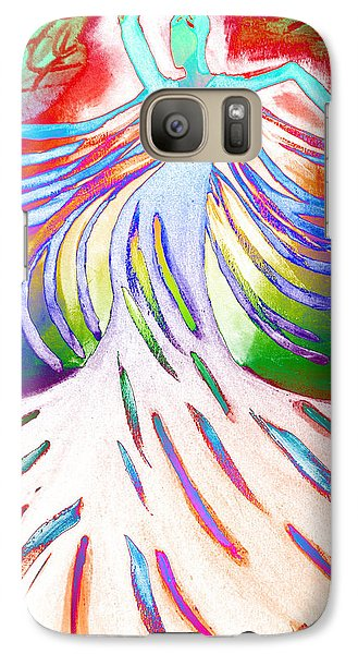 Galaxy Case featuring the painting Dancer 4 by Anita Lewis