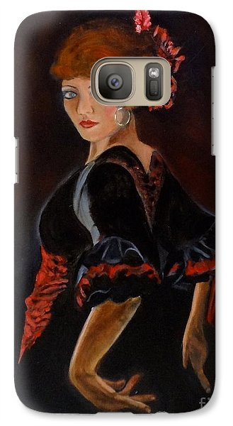 Galaxy Case featuring the painting Dancer by Jenny Lee