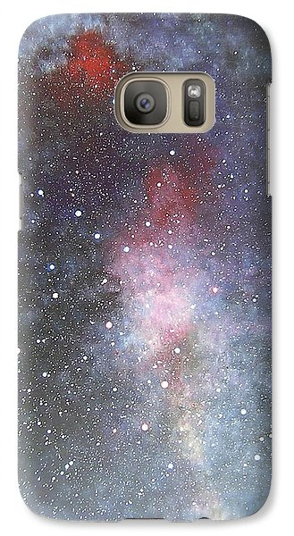 Galaxy Case featuring the painting Dancer by Min Zou