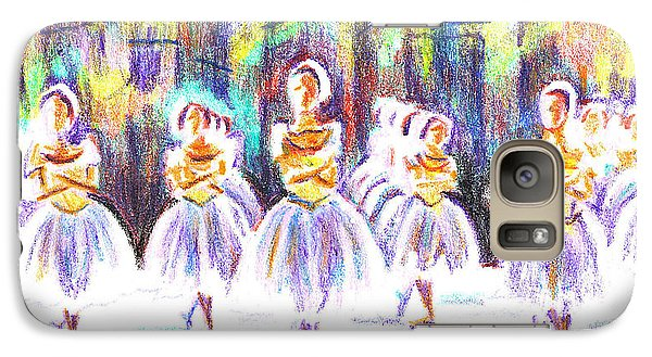 Dancers In The Forest II Galaxy S7 Case